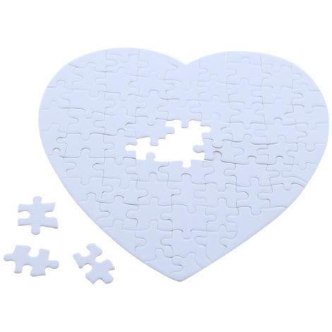 Puzzle con forma de corazón para sublimar pz1919-75