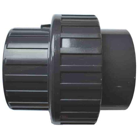 PVC 3/3 Verschraubung Klebemuffe x Klebemuffe 20 mm