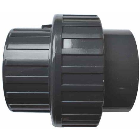 PVC 3/3 Verschraubung Klebemuffe x Klebemuffe 63 mm
