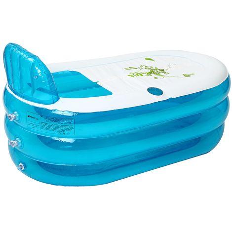 Pvc Adult Child Blue Bathtub Tub Spa Hot Inflatable Bathtub Air Pump House