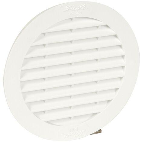 PVC clásico: Redondo para manguera blanca D.99 con mosquitera