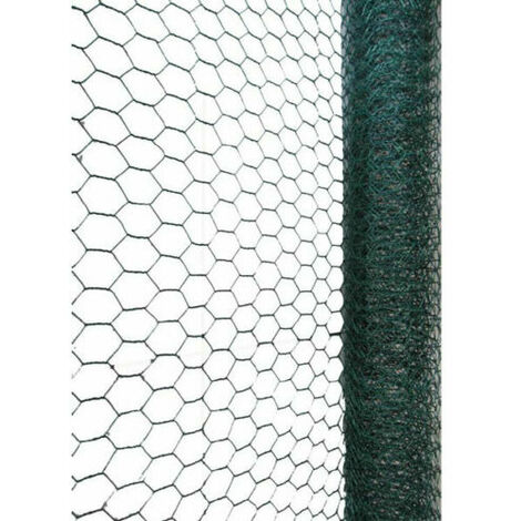 """main image of """"PVC Coated Galvanised Wire Netting 5 m x 0.6 x 25mm"""""""