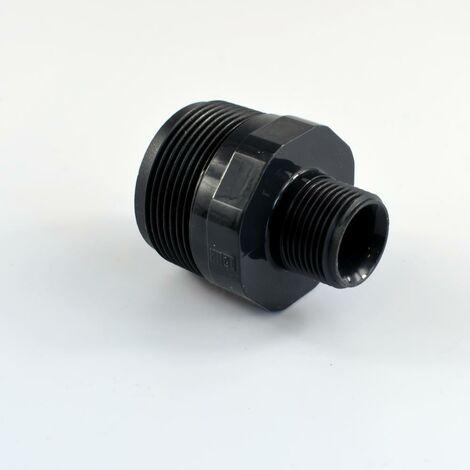 """Rohrdoppelnippel 1 1//2/"""" 3//2/"""" Zoll x 120mm DN40 Rohrnippel Doppelnippel verzinkt"""