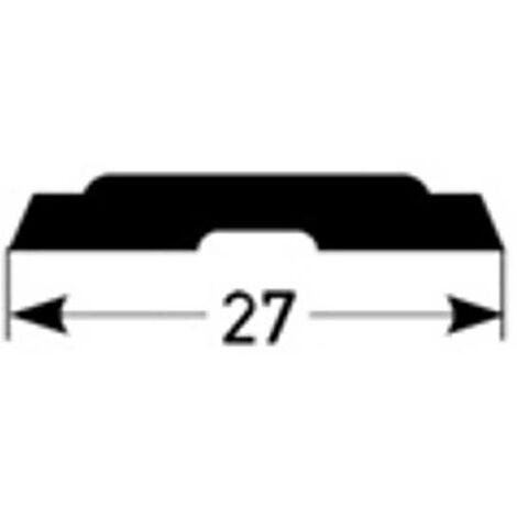 PVC-Einlage für Kombiwinkel - 27 mm breit