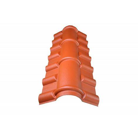 PVC-First für Dachimitat-Mini-Ziegel
