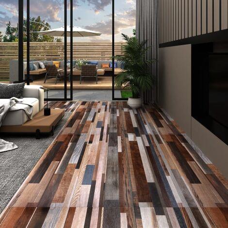 "main image of ""PVC Flooring Planks 4.46 m2 3 mm Multicolour"""