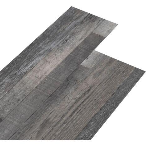 PVC Flooring Planks 5.02 m² 2 mm Self-adhesive Industrial Wood