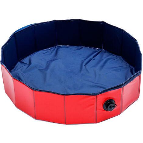 PVC Pet Swimming Pool Portable Foldable Pool 80*18.8cm
