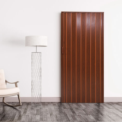 PVC Plastic Folding Washable Door Sliding Panel Divider with Magnetic Lock