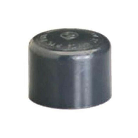 PVC plug - Female - Pressure to be glued - Diameter 40 mm 39839D