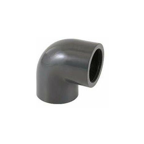 Pvc Presion .50 Codo 90º Rosca H.1 1/2 H.1 1/2