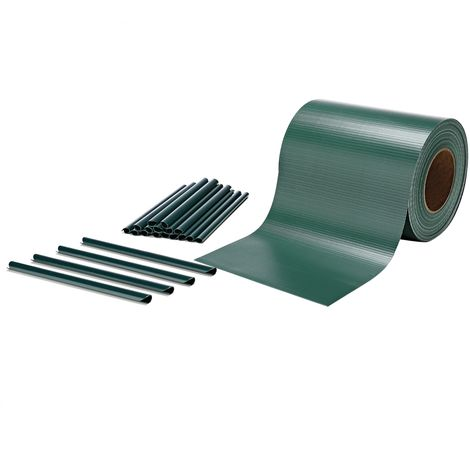 PVC privacy strip fence foil green privacy protection double rod mats 35m roll