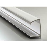 PVC Sheet End Closure - 10mm x 2.1mtr White