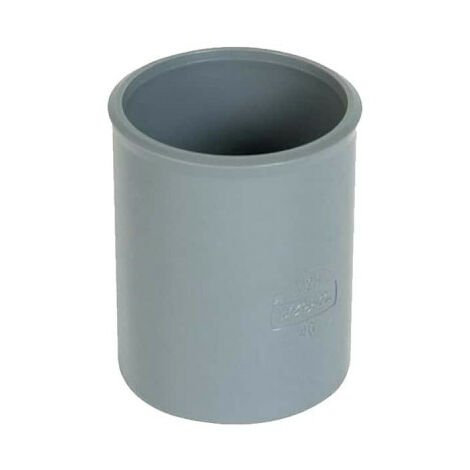 PVC sleeve - Diameter 40 - female-female - to be glued - 20332 A