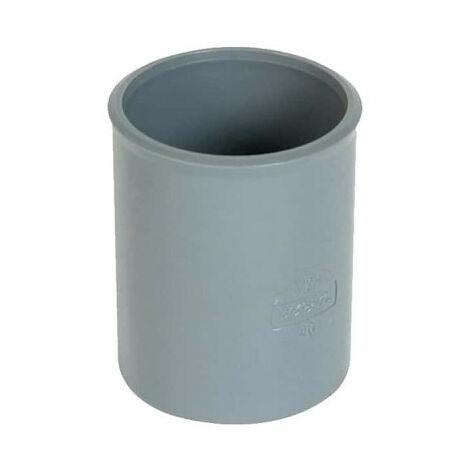 PVC sleeve - Diameter 50 - female-female - to be glued - 20333 B