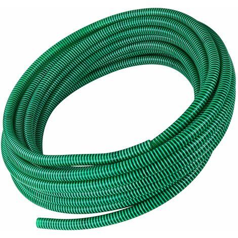 PVC Spiralsaugschlauch 1 1/2 Zoll 40mm 25m Saugschlauch Spiralschlauch Schlauch