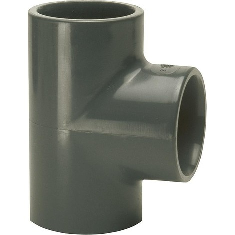 PVC-U - raccord à coller piece en T, 25 mm, manchon adhesif universel