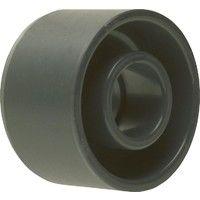 PVC-U - Raccord adhesif Reduction courte, 110 x 90 mm, avec support et manchon adhesif