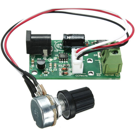 Pwm Switch Regulator Pulse Adjustable Speed ??Controller Dc6-28V 3A