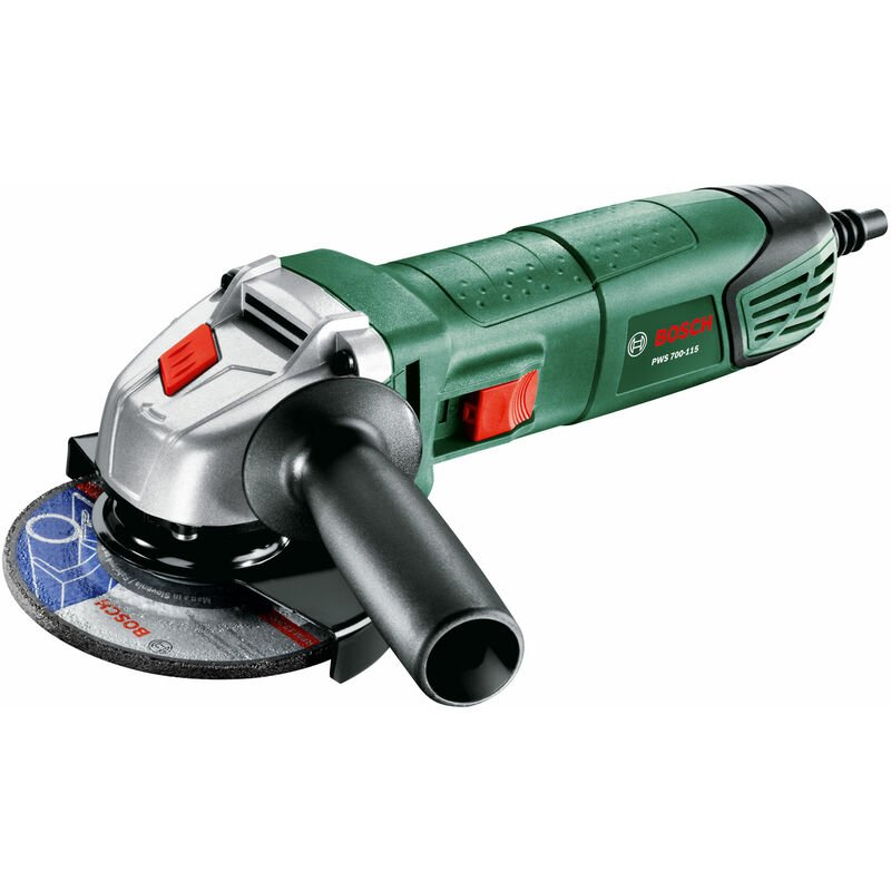 Image of Bosch Diy - Bosch 06033A2070 PWS 700-115 Angle Grinder 701W 115mm