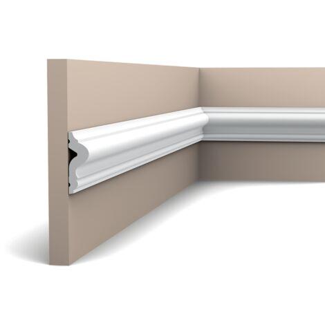 PX175F Flexible Cimaise murale Orac Decor - 5x1,7x200cm (h x p x L) - polymère - rigide ou flexible : flexible - conditionnement : A l'unité