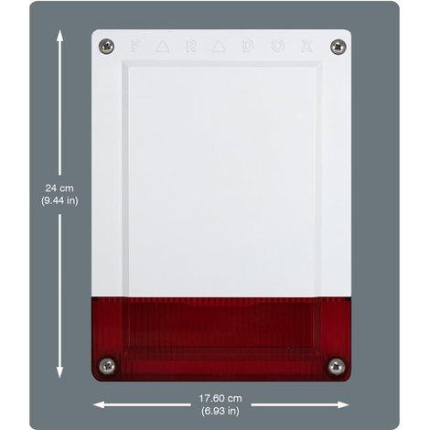 PXMXSR150 PARADOX ALARM ANTITHEFT SR150/86 outdoor siren bidirectional