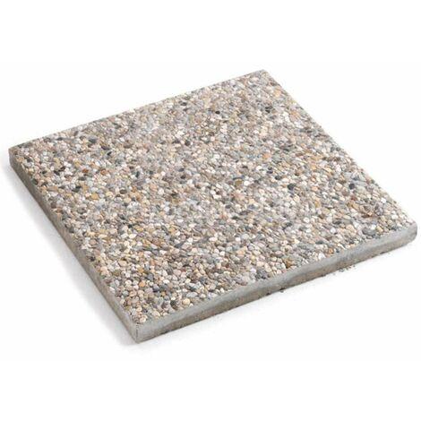 Pz 4 basi base marmette cemento ghiaia per ombrelloni laterali ombrellone 50x50