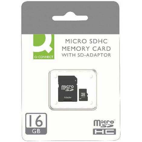 Q-Connect MicroSD Card 16GB Class 10 - KF16012