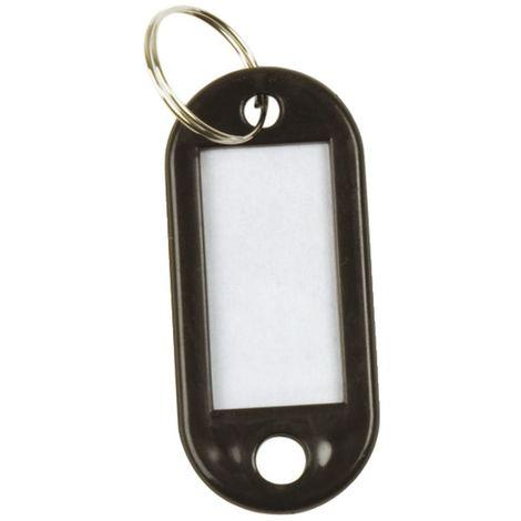 Q-Connect Schlüsselanhänger 10ST schwarz