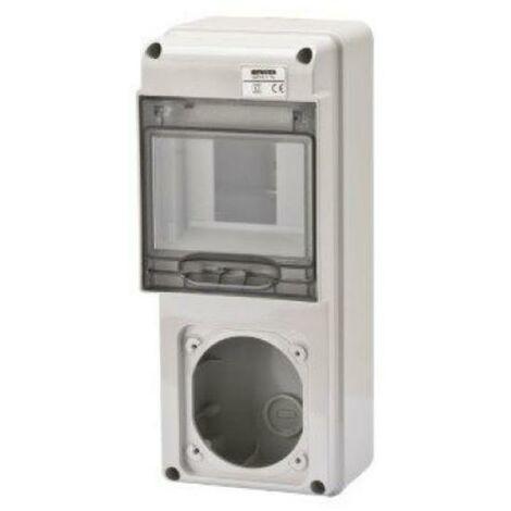 Q-DIN 5 EMPTY 16A IP65 GW68017 GW68017 GW68017N