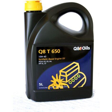 Q8 - Bidon 5 litres d'huile moteur T 650 10W40 - 103118001616