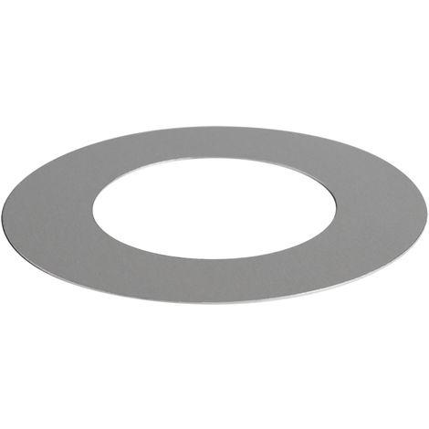 QAZQA Anillo de relleno RVS para focos empotrados 7.5 - 1.3 cm