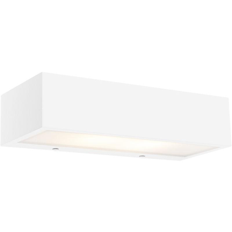 Applique houx - Design - Alluminio - Bianco - Oblungo/Allungato Max. 2 x Watt - Qazqa