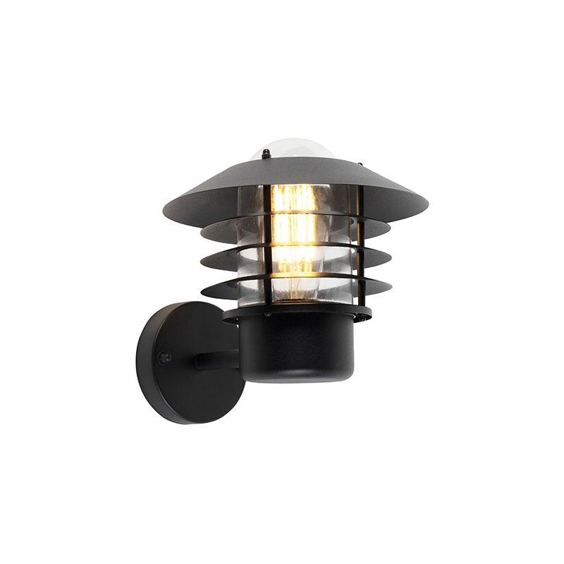 Dimmer/regolatore da parete prato - Moderno - Alluminio,Acciaio,Vetro - Nero - Tondo Max. 1 x Watt - Qazqa