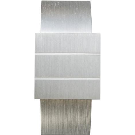 QAZQA Diseño Aplique moderno aluminio - AMY Cubo /Cuadrada Adecuado para LED Max. 1 x 40 Watt