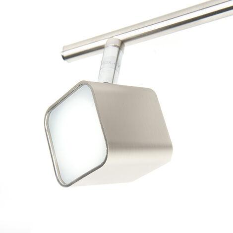 QAZQA Faretto bart - Moderno - Plastico,Metallo - Acciaio - Cubo Non sostituibile Max. 3 x 12 Watt - 94620