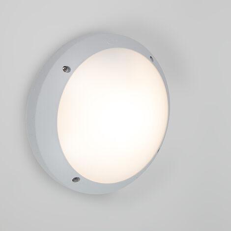 QAZQA Lampada da soffitto/parete Gelmi - Moderno - Plastico - Grigio - Tondo Max. 1 x Watt - 93841