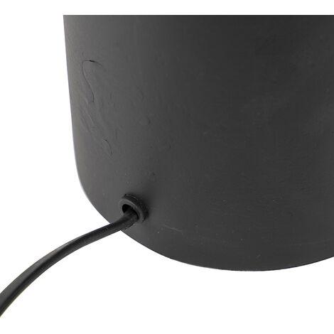 QAZQA Lampada da tavolo diverso - Art déco - Alluminio,Acciaio - Nero - Oblungo Max. 1 x Watt - 98870