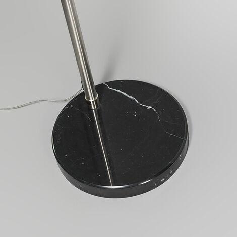 QAZQA Lampada da terra arco Booglamp XXL - Moderno - Metallo - Acciaio - Oblungo Max. 1 x Watt - 91808