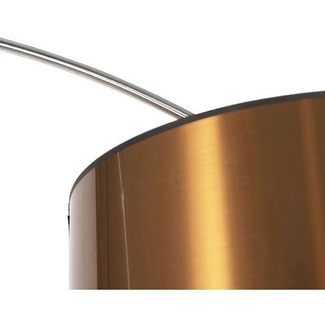 QAZQA Lampada da terra arco Booglamp XXL - Moderno - Metallo,Tessuto - Acciaio - Oblungo Max. 1 x Watt - 91753