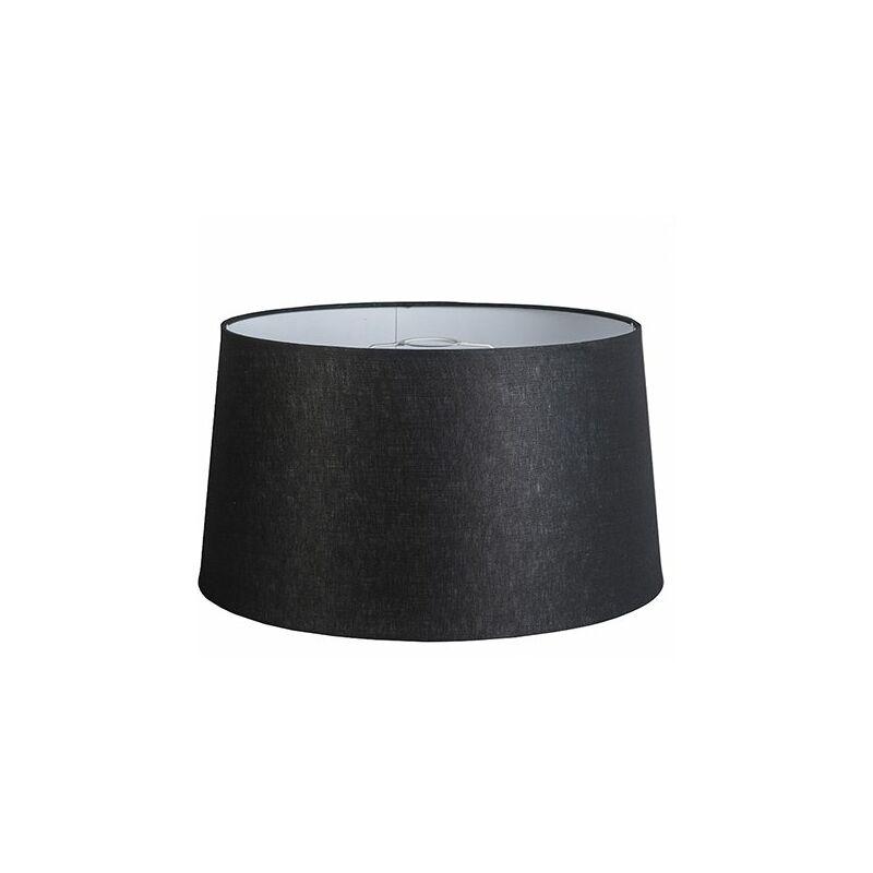 QAZQA Lino Pantalla de lino negro 45/25 , Redonda / Cónica Pantalla lámpara colgante,Pantalla lámpara de pie - 92187