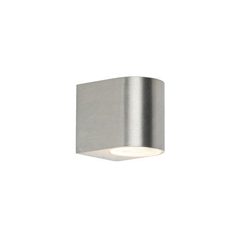 QAZQA Moderno Aplique moderno aluminio IP44 - BEN 1 Otros Adecuado para LED Max. 1 x 35 Watt