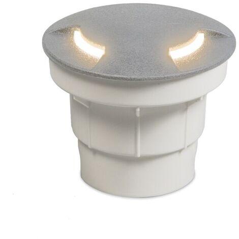 """main image of """"QAZQA Moderno Focos suelo gris LED IP67 - CECI Plástico Redonda Adecuado para LED Max. 1 x 3 Watt"""""""