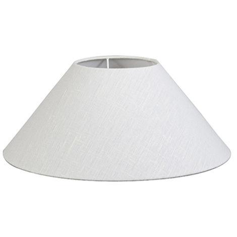 QAZQA Moderno Lino Pantalla lino blanco 40/15/16 , Redonda / Cónica Pantalla lámpara de pie