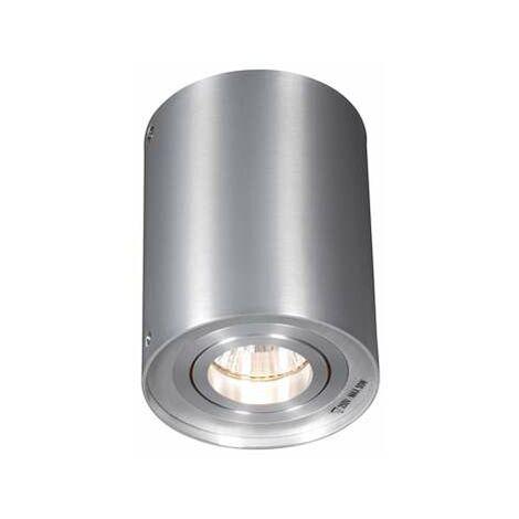 QAZQA Moderno Set 6 focos aluminio giratorios e inclinables - RONDOO 1 UP Cilíndra Adecuado para LED Max. 6 x 50 Watt