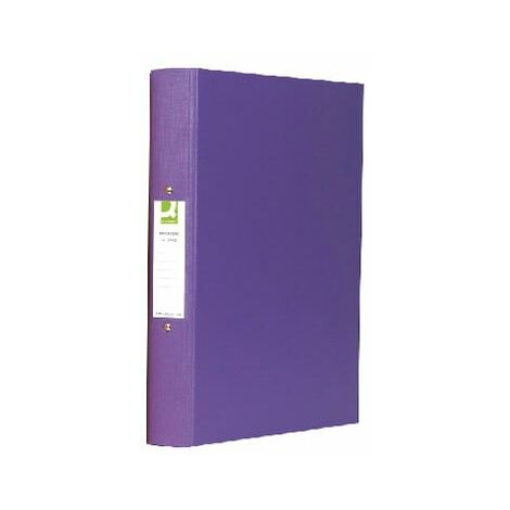 Qconnect Q-connect 2-Ring Binder A4 Polyprop Purple (Pack-10)