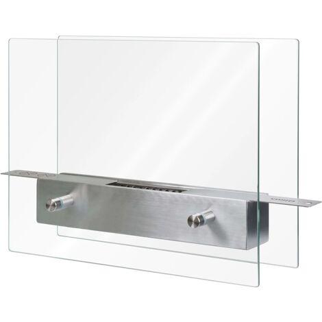 Qlima Brûleur à l'éthanol 35 x 12 x 28 cm FFB 106
