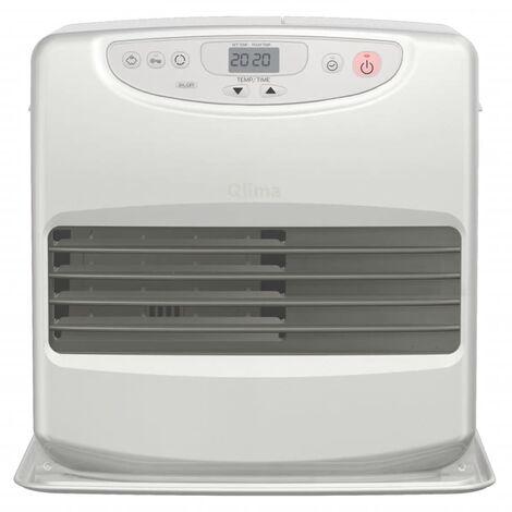 Qlima Calefactor de parafina portátil 428 W plateado SRE 8040C