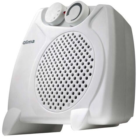 Qlima Calefactor eléctrico de aire 2000 W blanco EFH2010