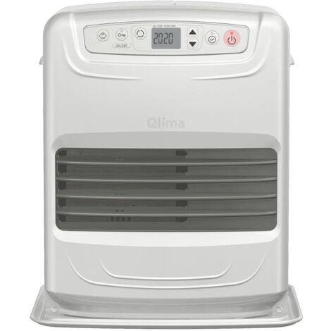 Qlima Calefactor parafina portátil electrónico 335 W plata SRE 3531C2